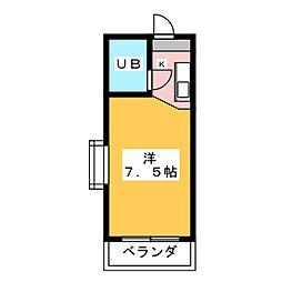 ラトゥール御替地[5階]の間取り