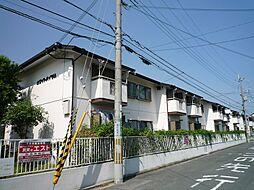 大阪府高槻市若松町の賃貸アパートの外観