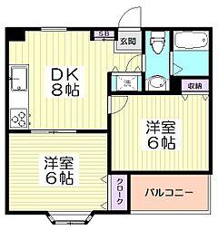 10386[5階]の間取り
