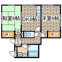 兵庫県神戸市長田区名倉町5丁目の賃貸マンションの間取り