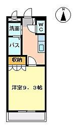 Lala ひまわり[2階]の間取り