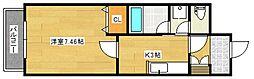 メゾン・ド・アブリール[3階]の間取り