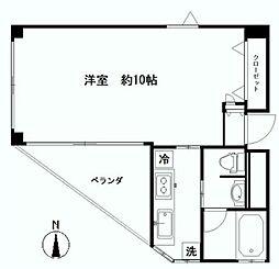 COCOハウス十番[5階]の間取り