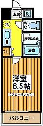 東京都杉並区浜田山3丁目の賃貸マンションの間取り