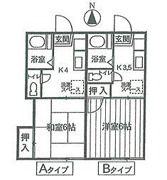 宮城県仙台市若林区五十人町の賃貸アパートの外観
