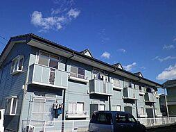 群馬県高崎市東貝沢町3丁目の賃貸アパートの外観
