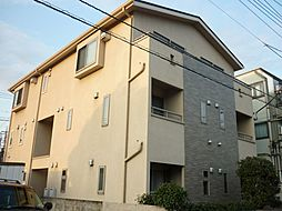東京都国分寺市日吉町2丁目の賃貸アパートの外観
