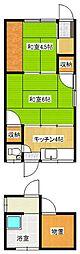 鳥取県米子市河崎 [一戸建] の間取り