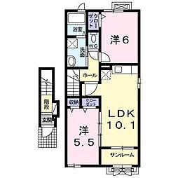 ARSH4−II[2階]の間取り