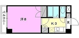 ジョイフル第5中村[402 号室号室]の間取り