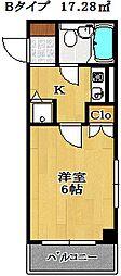 大和船橋マンション[5階]の間取り