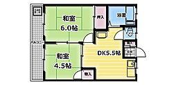 第2増田コーポ[2階]の間取り