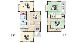 [一戸建] 兵庫県川西市笹部1丁目 の賃貸【兵庫県 / 川西市】の間取り