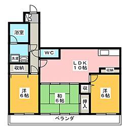 Maison de Calm[1階]の間取り