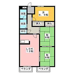 マツヤマビル[4階]の間取り