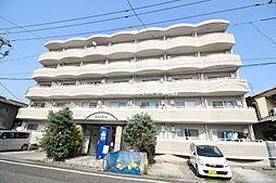 岡山県岡山市北区七日市西町の賃貸マンションの外観