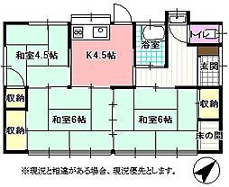 [一戸建] 長野県飯田市白山通り3丁目 の賃貸【/】の間取り