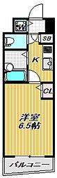 アーバネックス戸越銀座[5階]の間取り