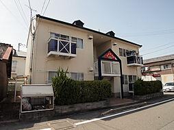 兵庫県姫路市城東町竹之門の賃貸アパートの外観
