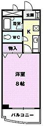 アベニュー名駅[302号室]の間取り