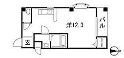 パールコート[2階]の間取り