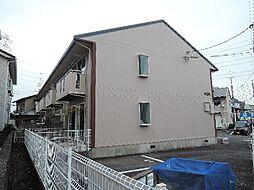 京都府城陽市水主塚の木の賃貸アパートの外観
