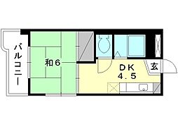 岡崎第7ビル[305 号室号室]の間取り