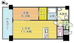 ネクステージ三萩野[3階]の間取り