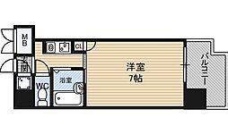 シティライフ新大阪 3階1Kの間取り