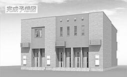 福岡県北九州市若松区浜町3の賃貸アパートの外観