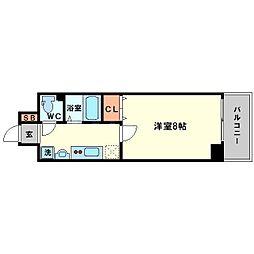 エステムコート新大阪VIエキスプレイス[11階]の間取り