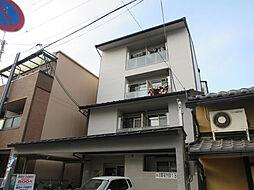 京都府京都市上京区姥ヶ西町の賃貸マンションの外観