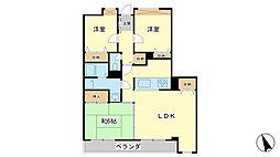 ドール辻井[2階]の間取り