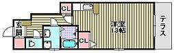 ルチャーマ2B棟[103号室]の間取り