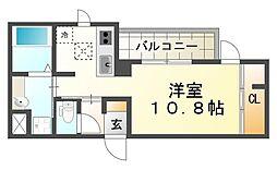 パルスミノール[2階]の間取り