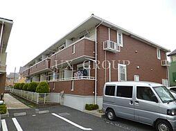 東京都武蔵村山市学園3丁目の賃貸アパートの外観