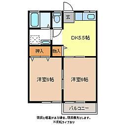 セローハウス[1階]の間取り