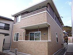 岡山県倉敷市児島下の町7の賃貸アパートの外観