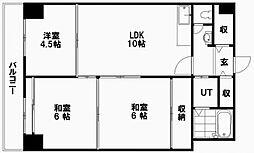 第2タヂカビル[12階]の間取り