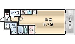 KDXレジデンス難波南[11階]の間取り