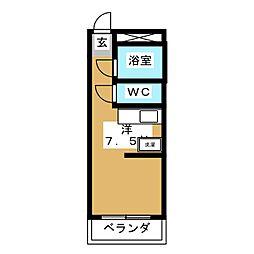 アメニティ鈴木[3階]の間取り