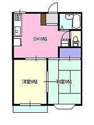 アボード・エス[2階]の間取り