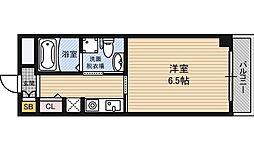 セレスティアル東三国[4階]の間取り