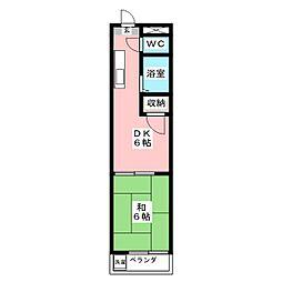 ハイムホープヒル[3階]の間取り