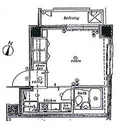 サンテミリオン池袋[5階]の間取り