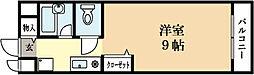 コート木幡[1階]の間取り