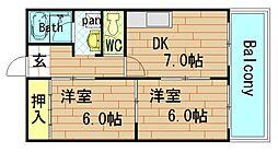 メゾンイリエ[2階]の間取り