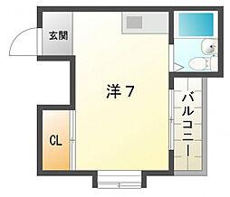 協和グリーンマンション[2階]の間取り
