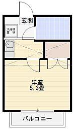 メゾンTB1[203号室]の間取り