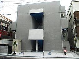 兵庫県尼崎市北大物町の賃貸アパートの外観